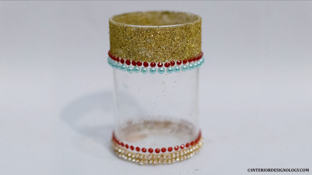 DIY Candle Holder, Interior Designology, Pooja Ghar Decorations