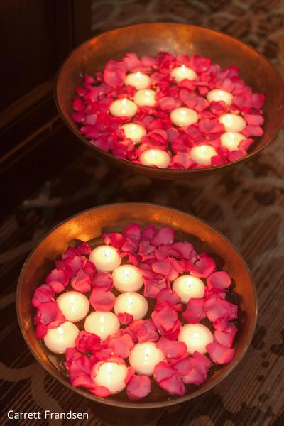 Diwali Flower and Diya Decoration