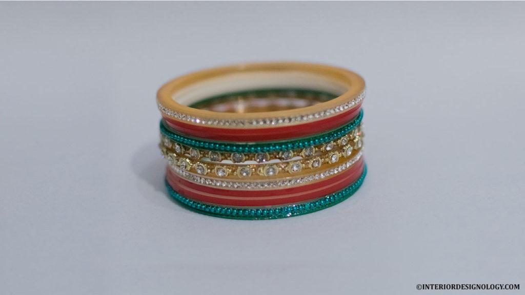 DIY Bangles Candle Holder, Interior Designology, Pooja Ghar Decorations
