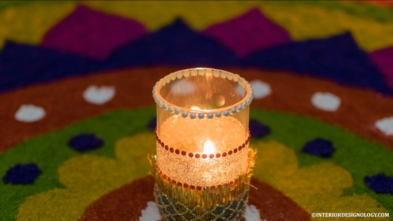 2017 Diwali Home Decor- DIY Pooja Ghar Decoration