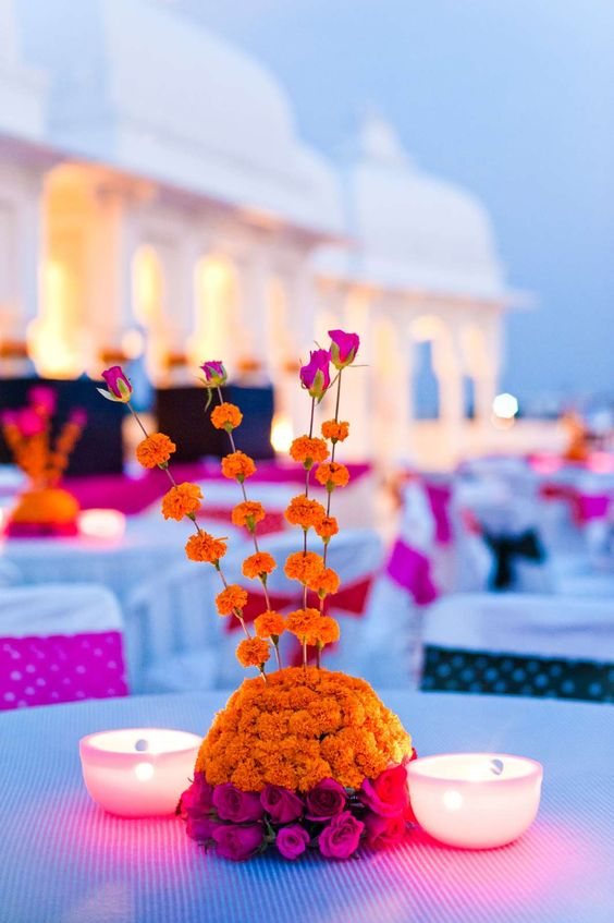 Diwali Centre Table Decoration Idea, Centre Table Decoration Idea