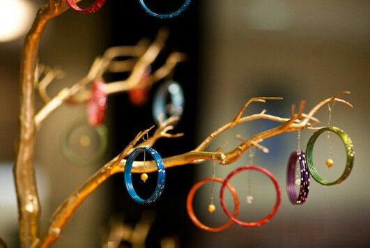 Decorate with Bangles