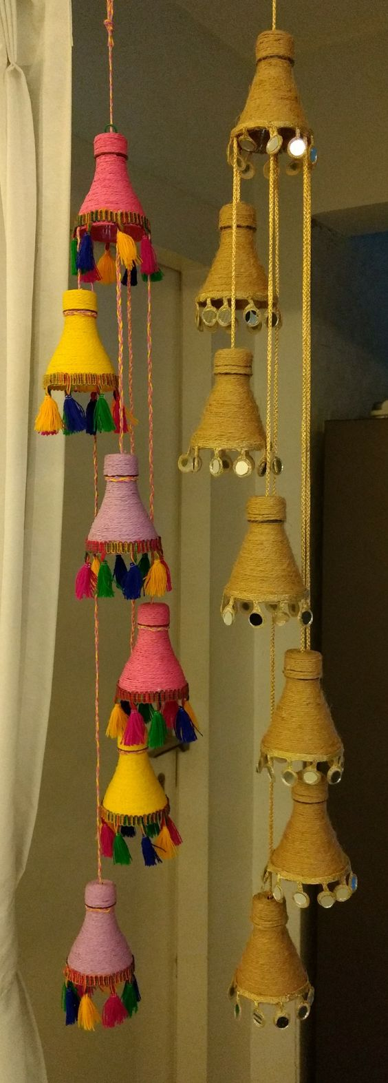 Colourful Door Hangings Idea