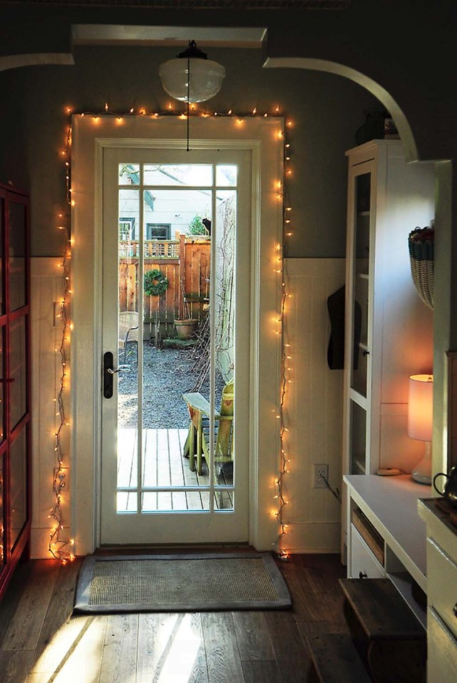 Fairy Lights At Your Welcome Door