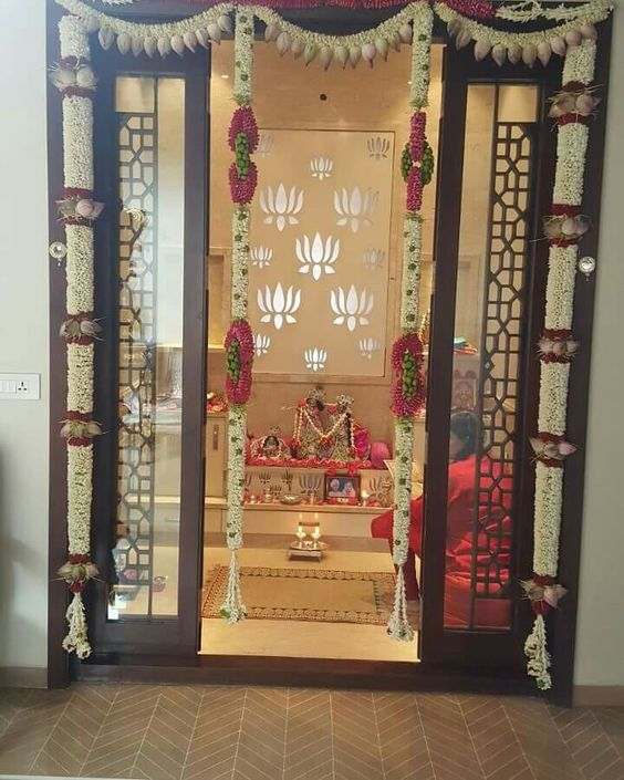 Pooja Room Designs and Decor for Diwali