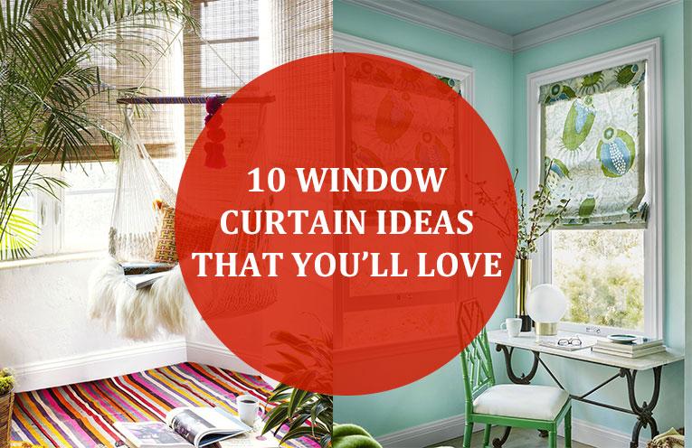10 Window Curtain Ideas That You'll Love