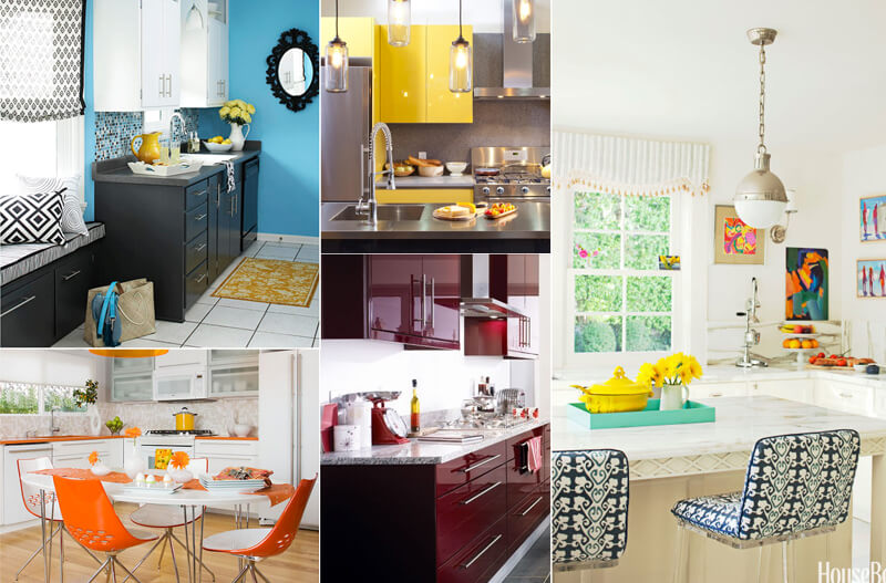 Top 10 kitchen color ideas a perfect cooking place for Perfect kitchen colours