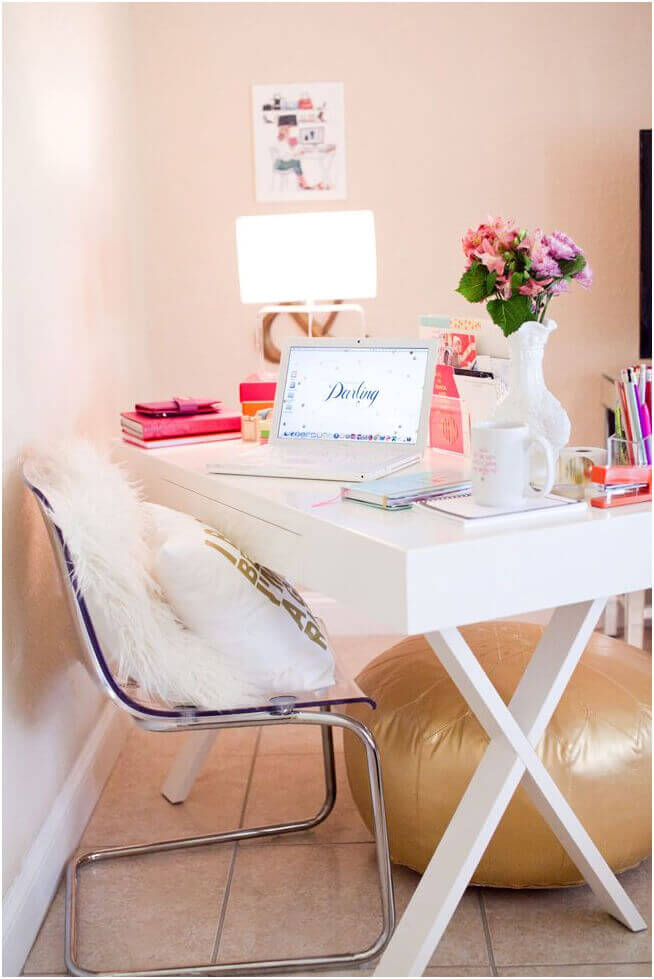 20 creative home office design ideas styling your home work space interior designology - Creative attarctive home office decorating ideas ...