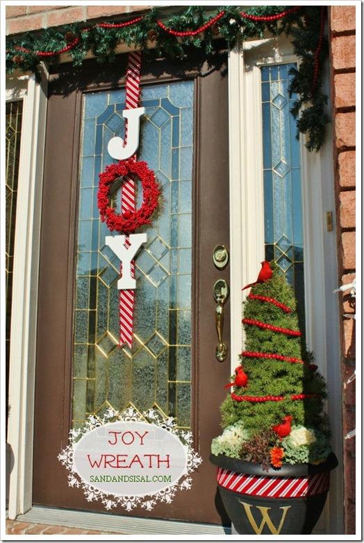 DIY Joy Wreath