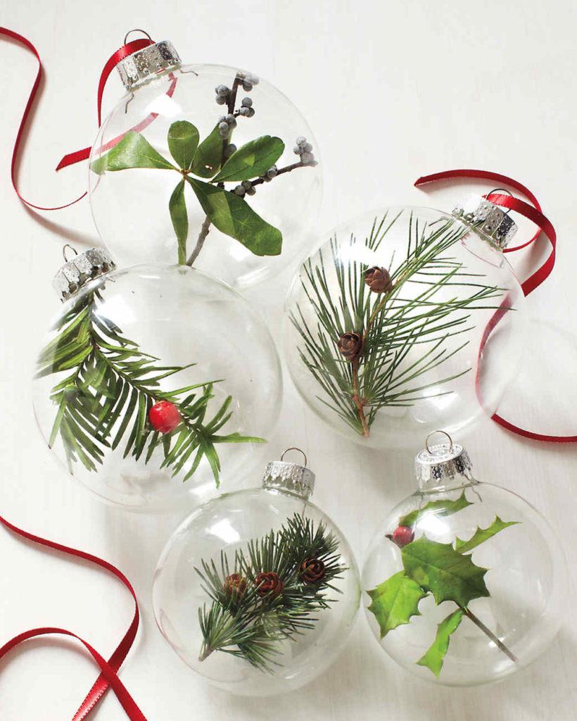 DIY Nature Ornaments