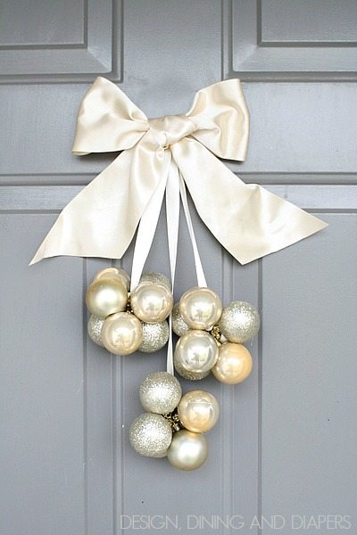 DIY Ornament Door Decoration