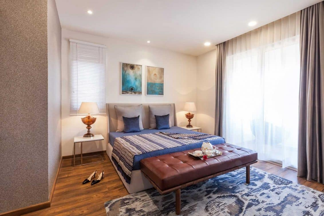 Studio Lotus New Delhi, Indian Residential Project, Indian Bedroom Decor